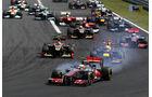 Start GP Ungarn 2012