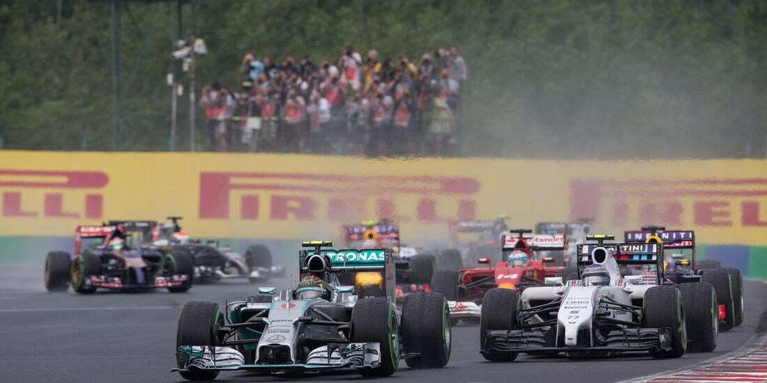 Start - GP Ungarn 2014 - Danis Bilderkiste