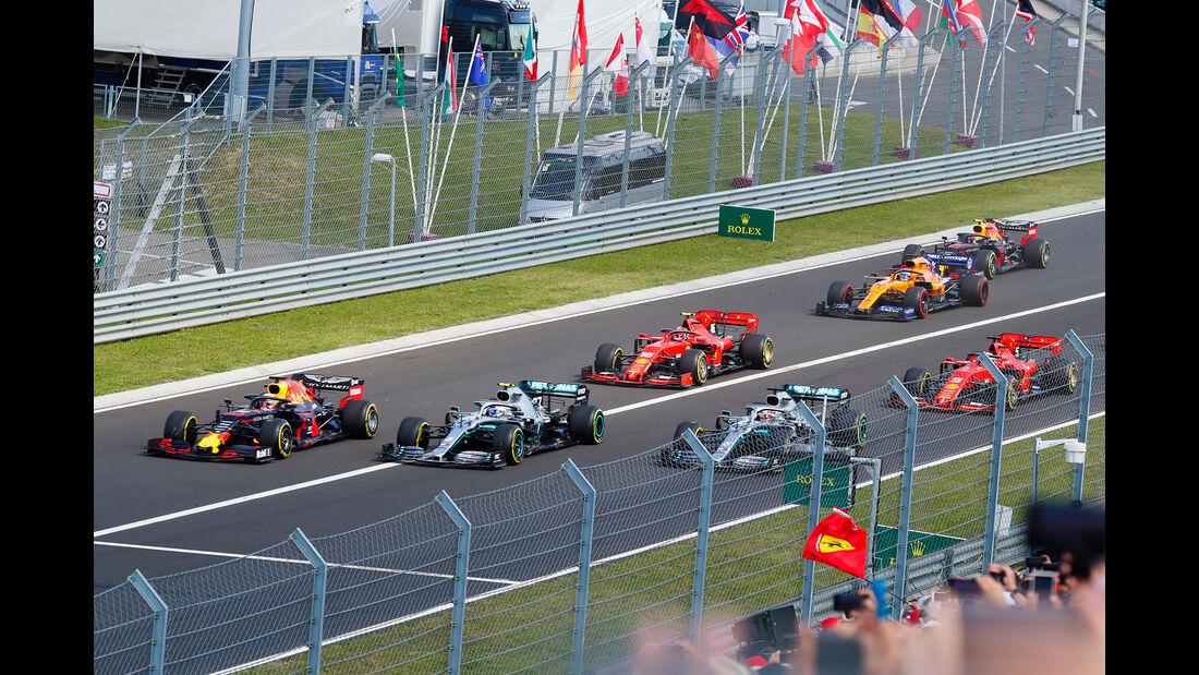 Start - GP Ungarn 2019