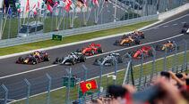 Start - GP Ungarn 2019 - Budapest - Rennen