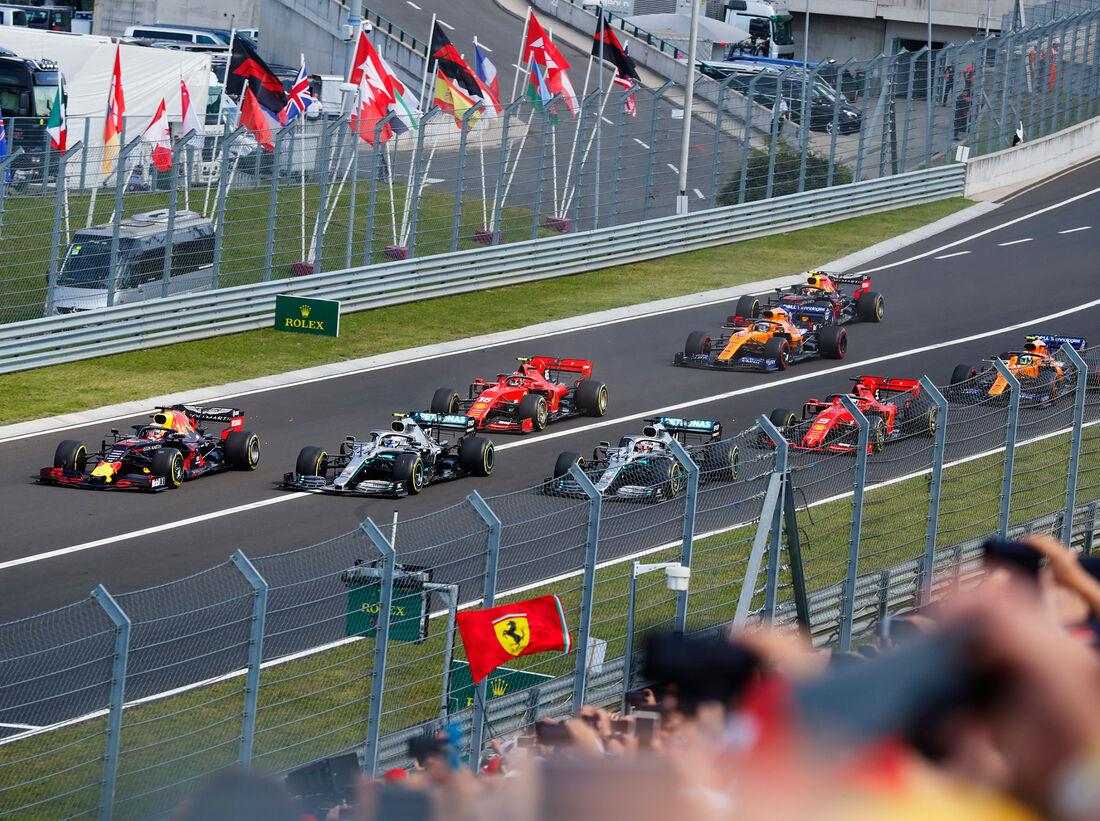 Inicio - GP Hungría 2019 - Budapest - carrera