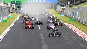 Start - GP Ungarn 2020