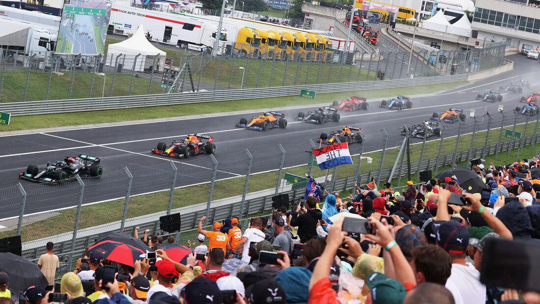 Start - GP Ungarn 2021 - Budapest - Rennen