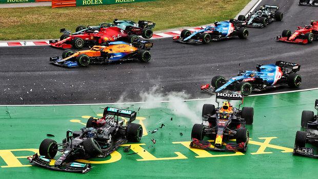 Start - GP Ungarn 2021 - Rennen