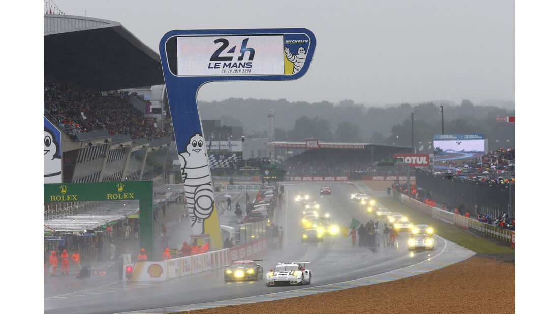 Start - GT - 24h Le Mans - Samstag - 18.06.2016