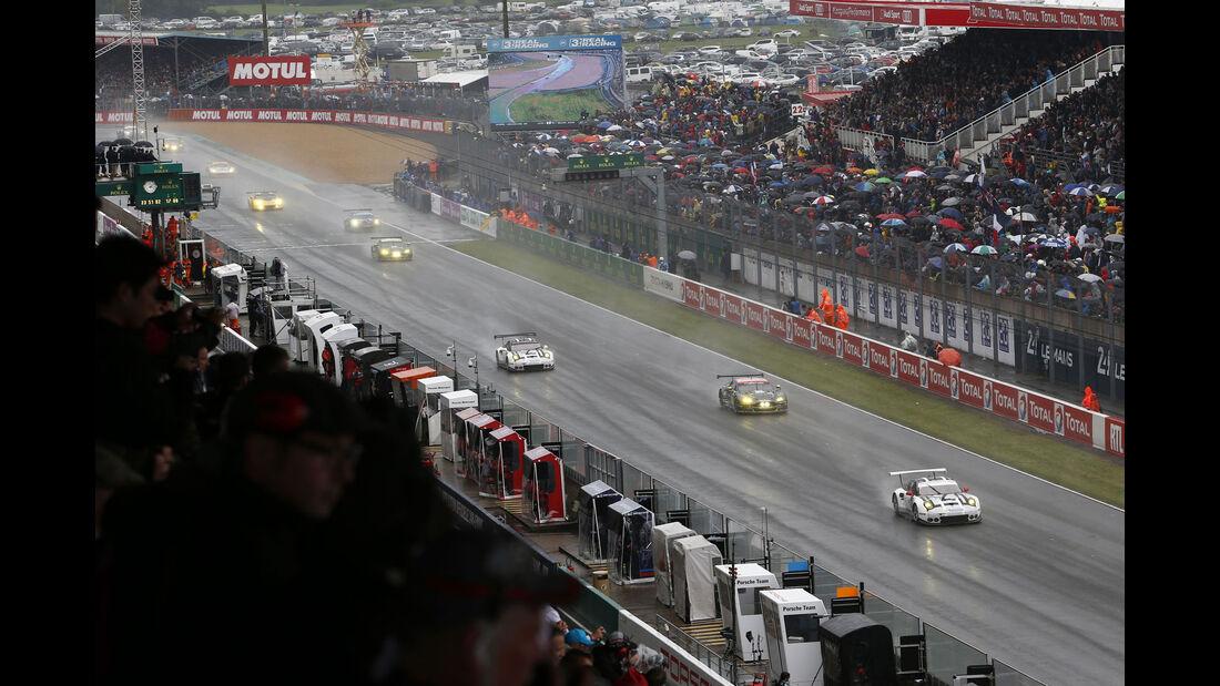Start GT - 24h Le Mans - Samstag - 18.06.2016