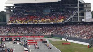 Start Hockenheim 2010 GP Deutschland