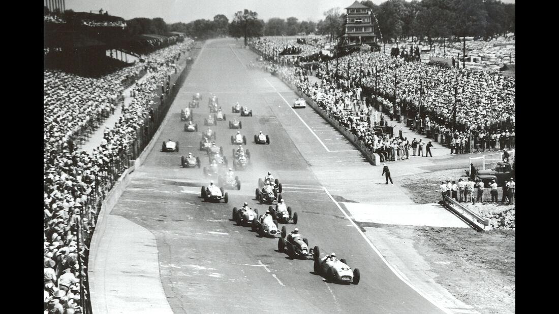 Start - Indy 500 - 1955 - Motorsport