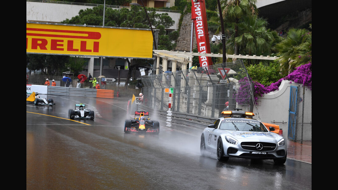 Start - Safety-Car - GP Monaco 2016