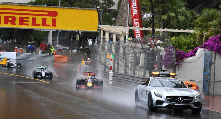 Start - Safety-Car - GP Monaco 2016