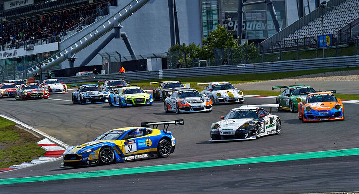 Start -VLN Nürburgring - 7. Lauf - 23. August 2014