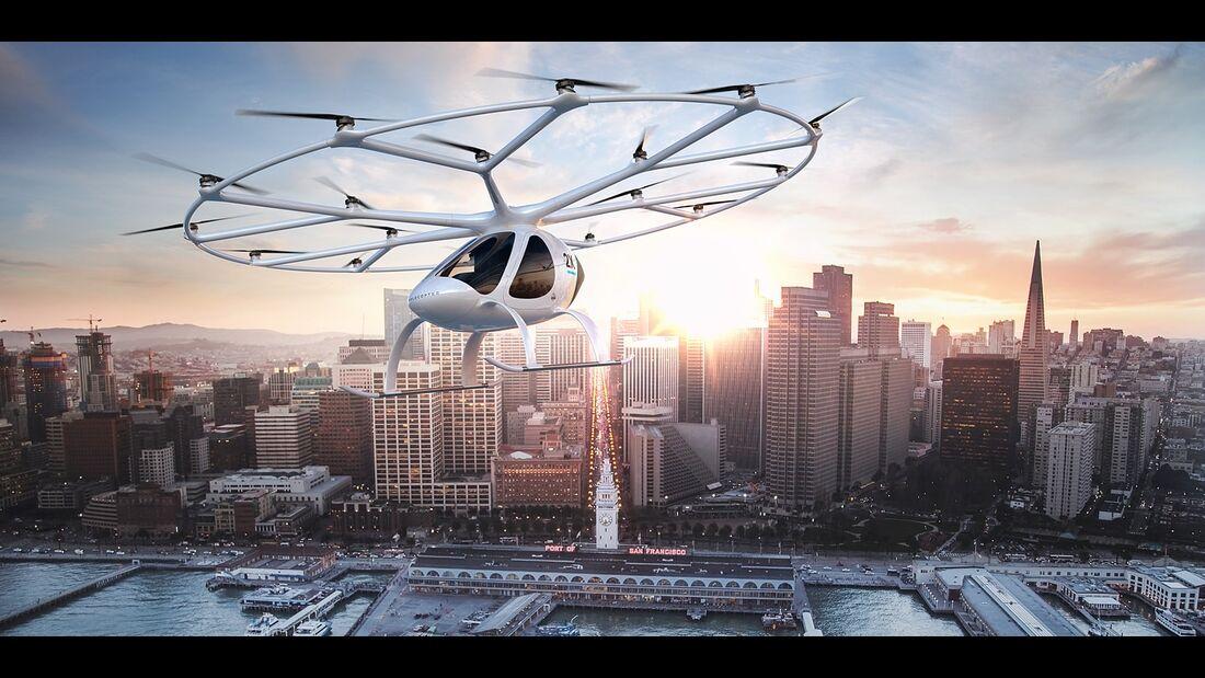 Start-ups in der Mobilitätsszene, Volocopter