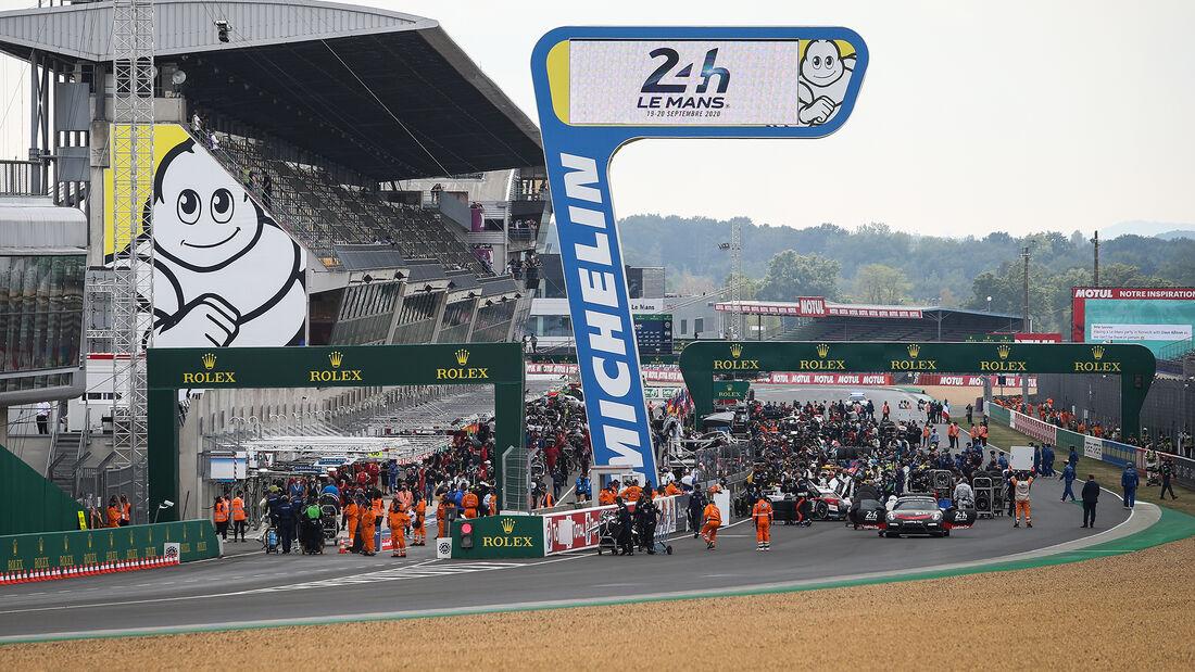 Startaufstellung - 24h-Rennen - Le Mans 2020