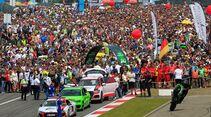 Startaufstellung - 24h Rennen Nürburgring - 22. Juni 2019