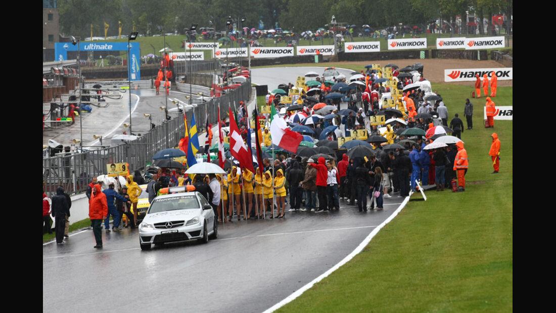 Startaufstellung DTM Brands Hatch 2011