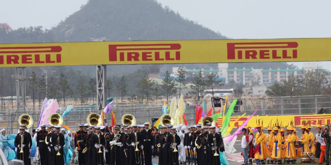 Startaufstellung - Formel 1 - GP Korea - 16. Oktober 2011