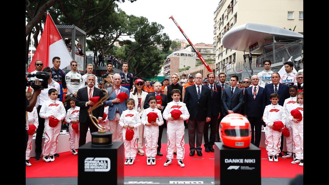 Startaufstellung - Formel 1 - GP Monaco - 26. Mai 2019