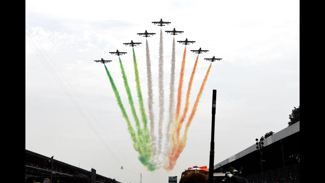 Startaufstellung - GP Italien 2016