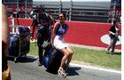 Startaufstellung GP Spanien