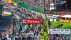 Startaufstellung, Le Mans, Zuschauer