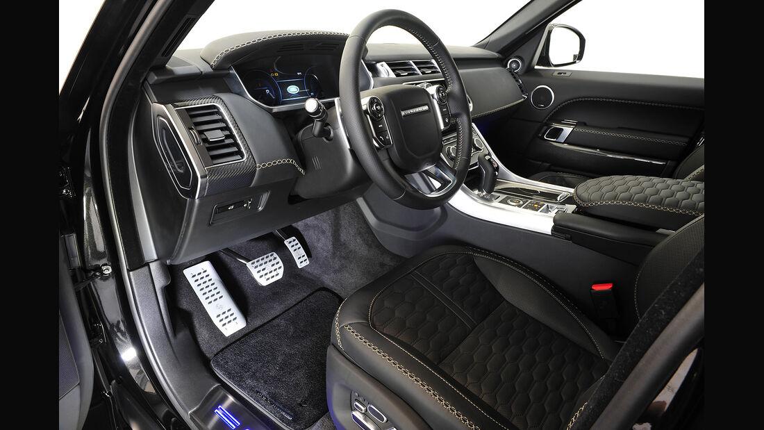 Startech,Range Rover,Widebody,Kit,Cockpit,Lenkrad