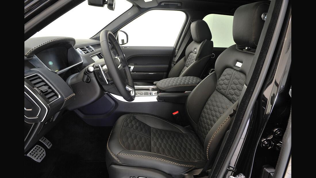 Startech,Range Rover,Widebody,Kit,Cockpit,Sitze