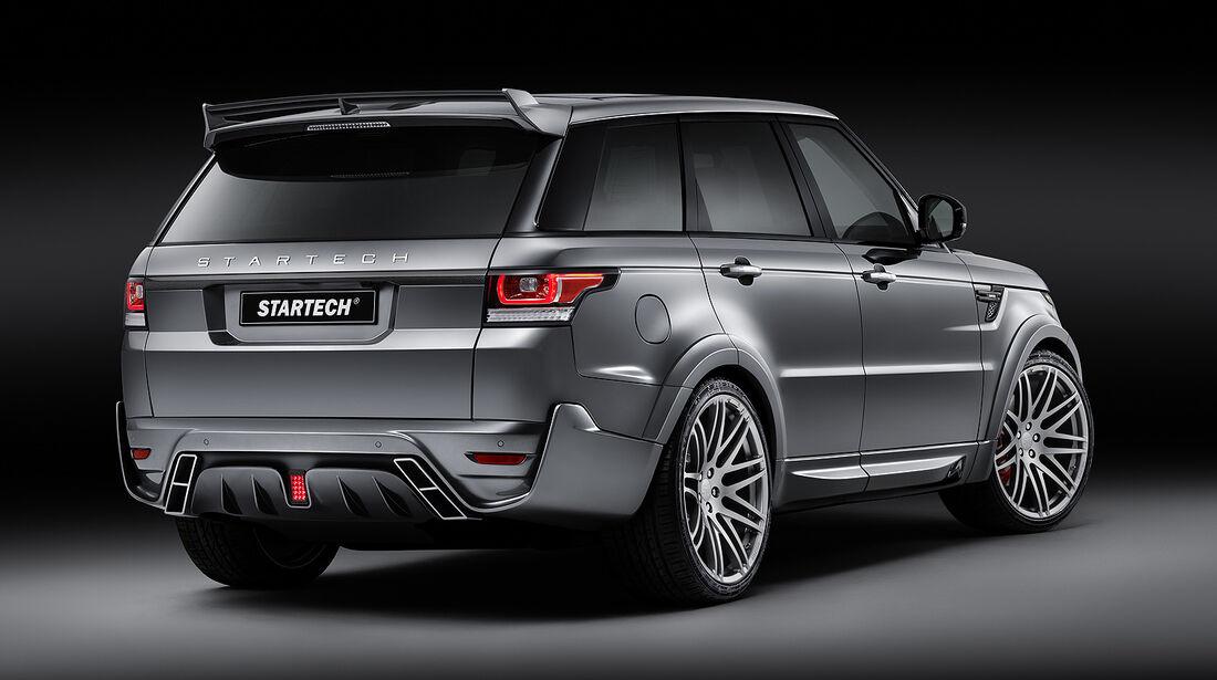 Startech,Range Rover,Widebody,Kit,Heck,Auspuff