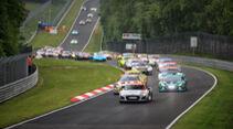Startgruppe eins - 24h-Rennen Nürburgring - Nürburgring-Nordschleife - 5. Juni 2021