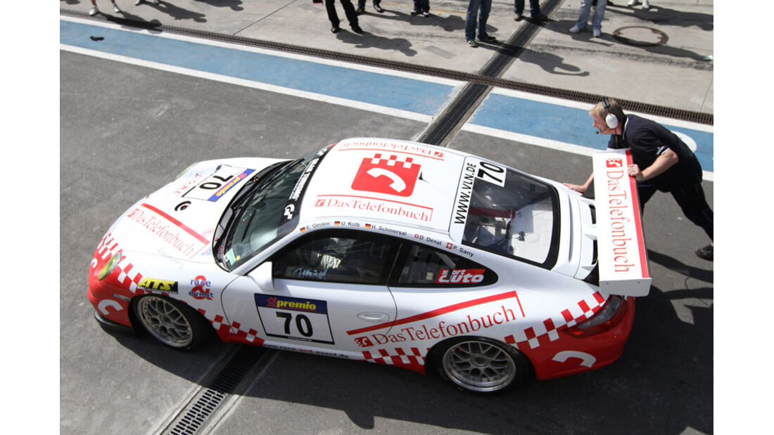 Startnummer #070, VLN, Langstreckenmeisterschaft Nürburgring, 2011
