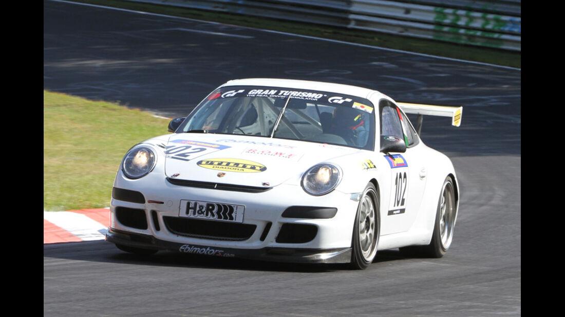 Startnummer #102, VLN, Langstreckenmeisterschaft Nürburgring, 2011