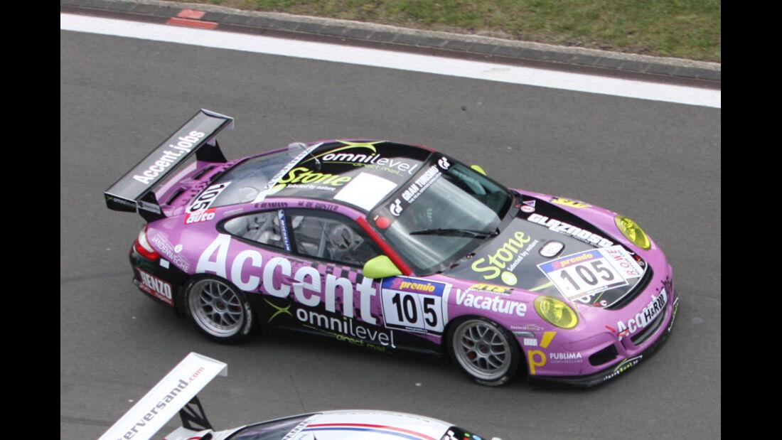Startnummer #105, VLN, Langstreckenmeisterschaft Nürburgring, 2011