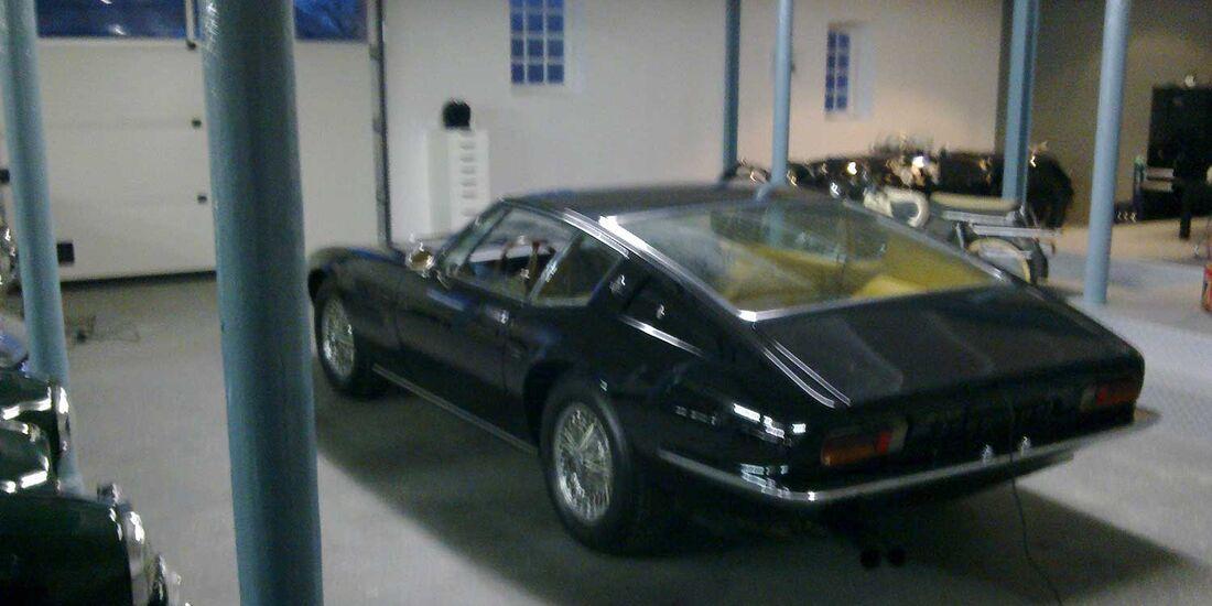Startnummer 118: Heiko Harms und Birte Ballauff im Maserati GHIBLI 4,7, 4,7 Liter, 8-Zyl. Reihe, 310 PS, Baujahr 1969.