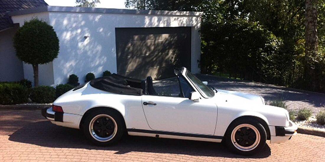 Startnummer 154: Stefan und Sylke Wortmann im Porsche 911, 3,2 Liter, 6-Zyl. Boxer, 209 PS, Baujahr 1984, Team UNION Glashütte.
