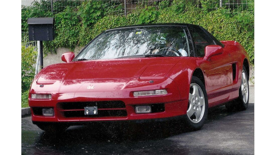 Startnummer 158: Kurt Manina und Sylvia Manzoni-Manina im Honda NSX, 3 Liter, V6, 274 PS, Baujahr 1991.