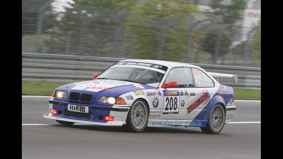 Startnummer #208, VLN, Langstreckenmeisterschaft Nürburgring, 2011