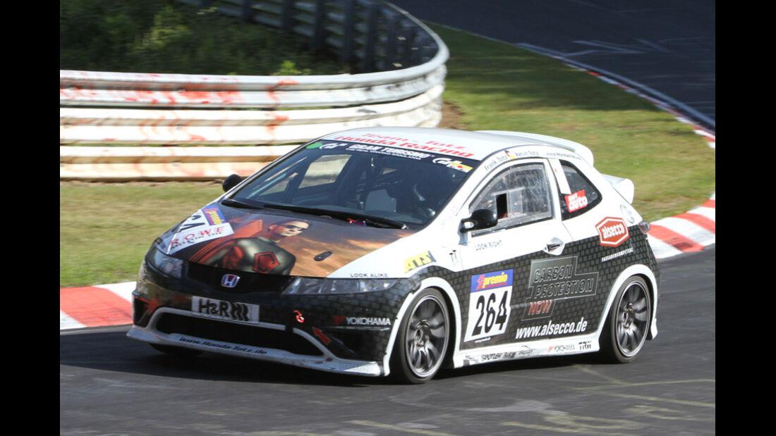 Startnummer #264, VLN, Langstreckenmeisterschaft Nürburgring, 2011