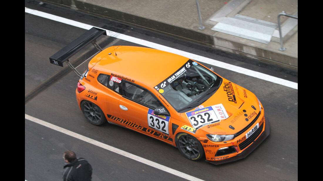 Startnummer #332, VLN, Langstreckenmeisterschaft Nürburgring, 2011