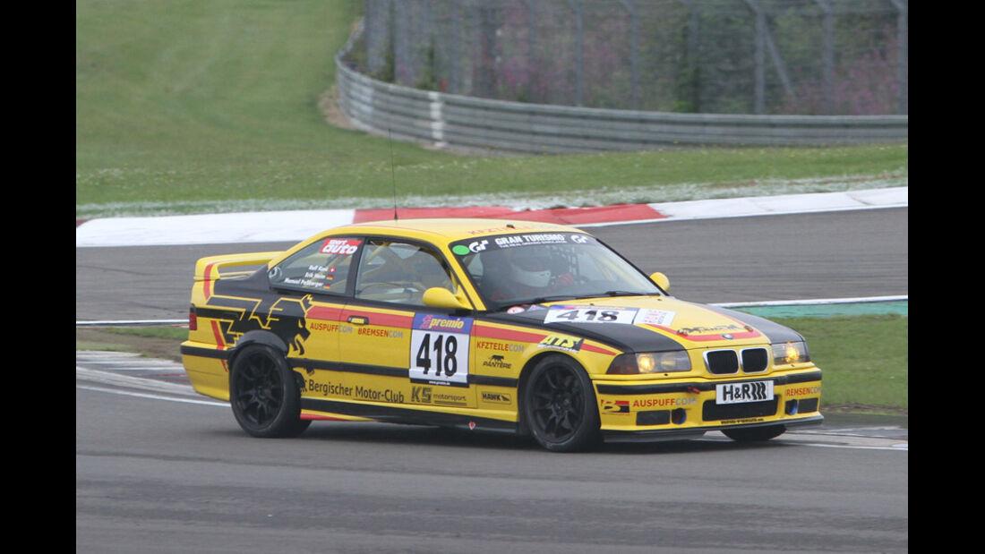 Startnummer #418, VLN, Langstreckenmeisterschaft Nürburgring, 2011