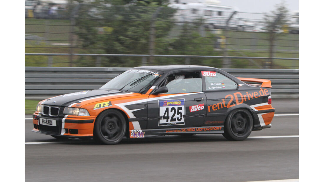 Startnummer #425, VLN, Langstreckenmeisterschaft Nürburgring, 2011