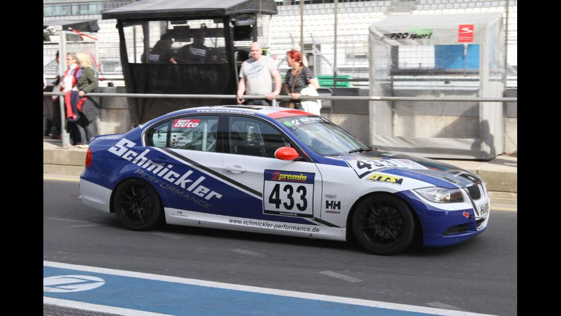 Startnummer #433, VLN, Langstreckenmeisterschaft Nürburgring, 2011