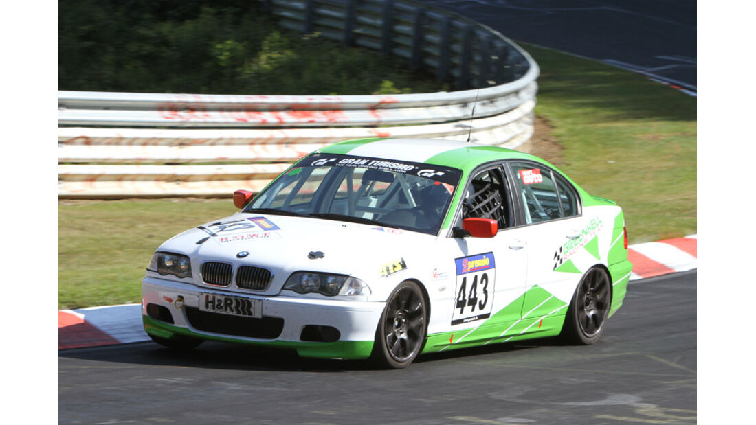 Startnummer #443, VLN, Langstreckenmeisterschaft Nürburgring, 2011
