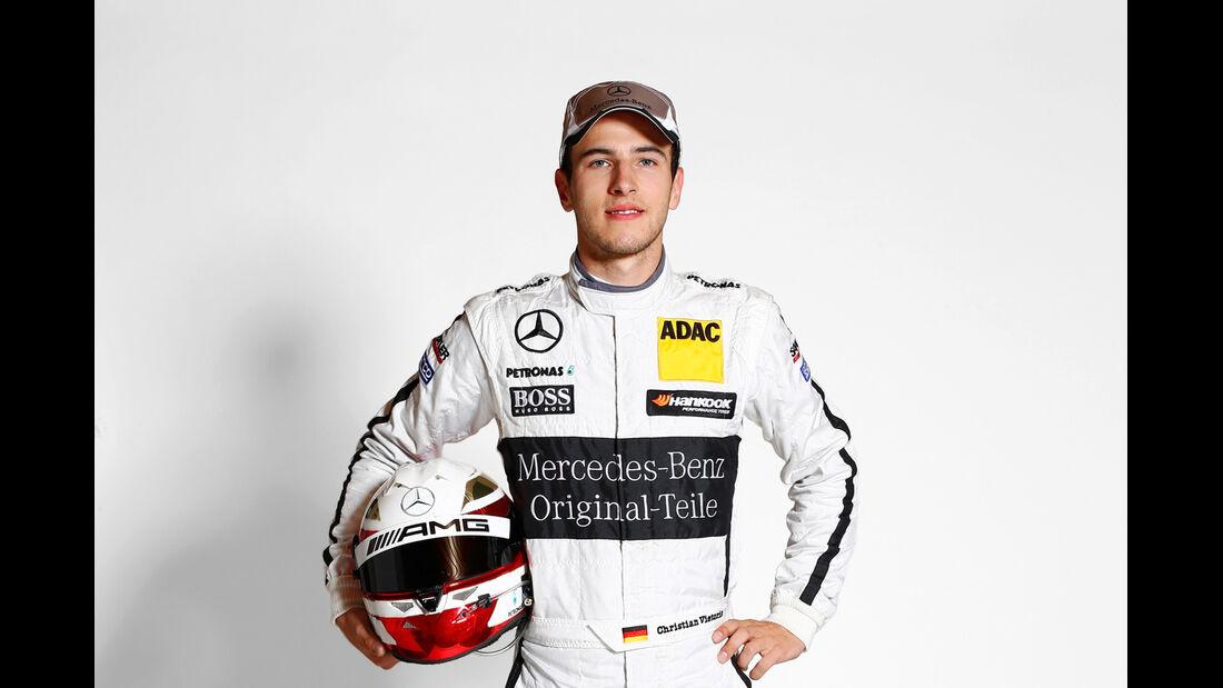 Startnummer 5 - Christian Vietoris - Mercedes AMG DTM C-Coupé - DTM 2014