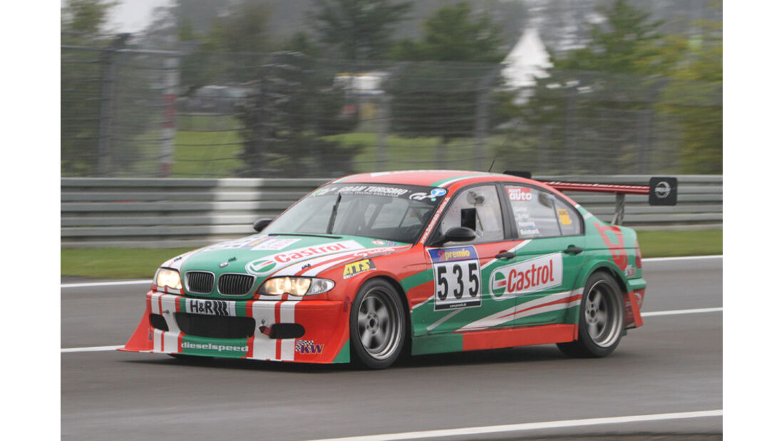 Startnummer #535, VLN, Langstreckenmeisterschaft Nürburgring, 2011