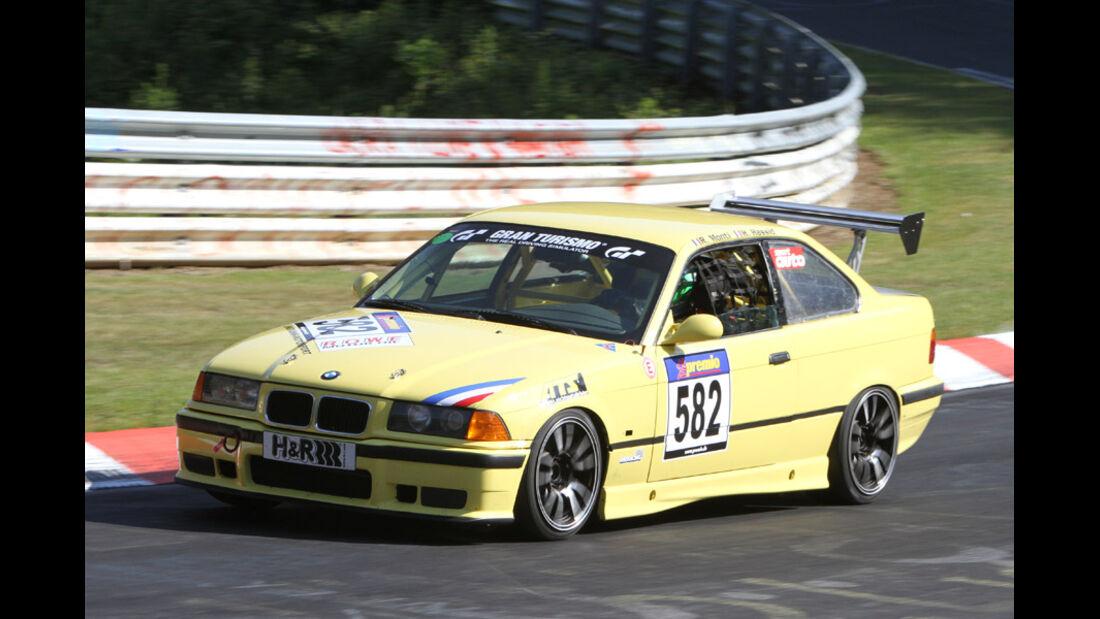 Startnummer #582, VLN, Langstreckenmeisterschaft Nürburgring, 2011