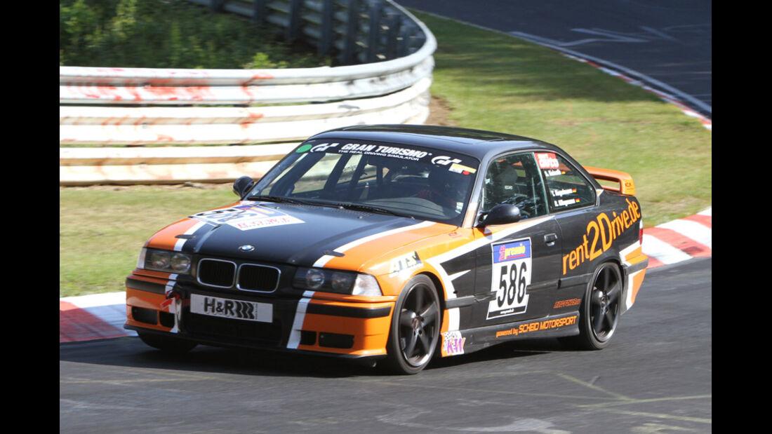 Startnummer #586, VLN, Langstreckenmeisterschaft Nürburgring, 2011