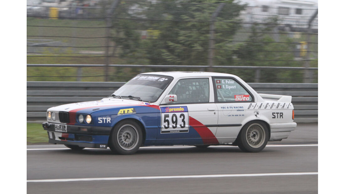Startnummer #593, VLN, Langstreckenmeisterschaft Nürburgring, 2011