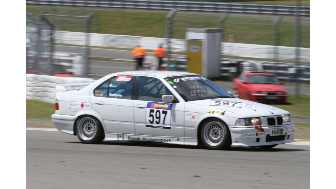 Startnummer #597, VLN, Langstreckenmeisterschaft Nürburgring, 2011