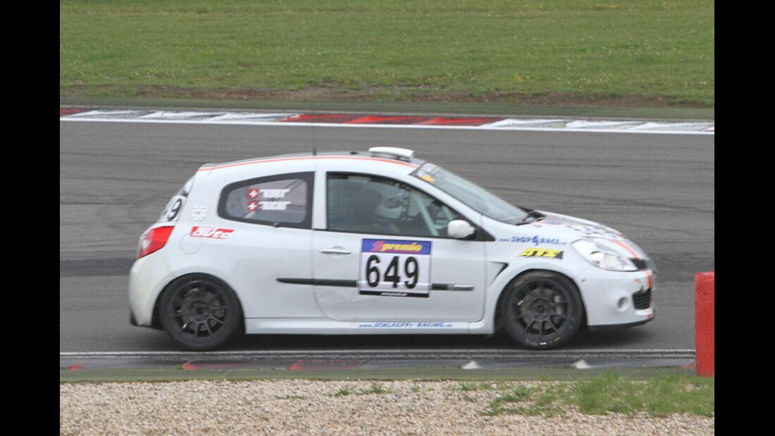 Startnummer #649, VLN, Langstreckenmeisterschaft Nürburgring, 2011