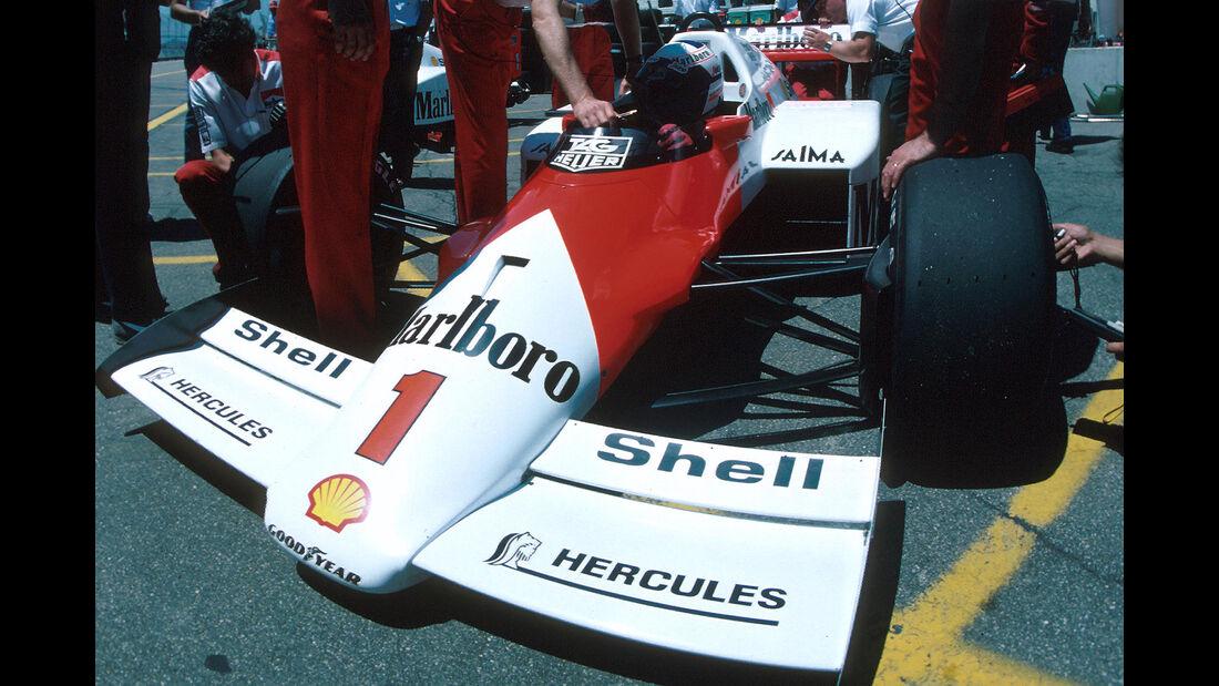 Startnummern - Historie - Formel 1