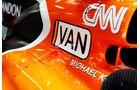 Startnummern - McLaren - GP Spanien 2017